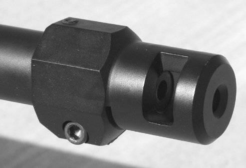 MFI Accuracy International (AI) Style Muzzle Brake for