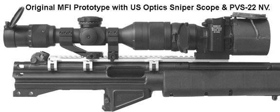 Mfi 30mm Tall Height Narrow Sniper Ring Pair 1