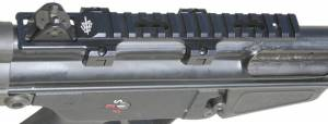 """MFI low profile scope mount for CETME rifles G3 style and Century Arms C91s the mount is 6.20"""" long and fits ONLY CETME rifles that do NOT have the recoil stop block."""