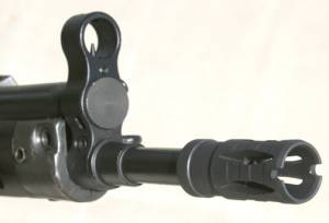 MFI CETME Slip On Flash Suppressor for Century G3 / CETME rifles WITHOUT Threaded Barrels.