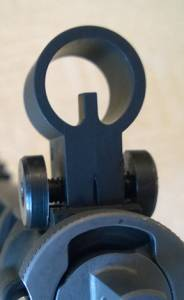 MFI SIG 551 / 550 SANs Style Front Hooded Sight.