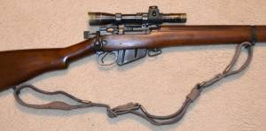 """MFI (1) Reproduction of WWII Holland & Holland British Enfield 4 Mk.1 """"T"""" Sniper Rifle Experimental Sling DD (E) 3543 for sale."""