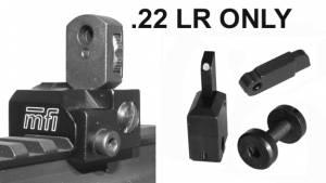 BLEM / MFI SIG MAD Rear & Front Flip Up Set for the SIG 522 (.22 LR Caliber ONLY)