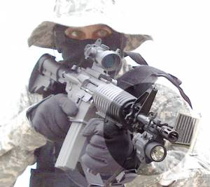MFI Single Barrel Mount on M4A1 US Army Special Forces