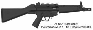 MFI GSG-5 Style HK MP5K PDW Flash Suppressor / Muzzle Break on SBR.