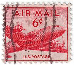 Rare US Airmail Stamp