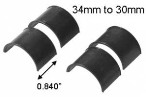MFI 34mm to 30mm Reducing Inserts (PAIR)