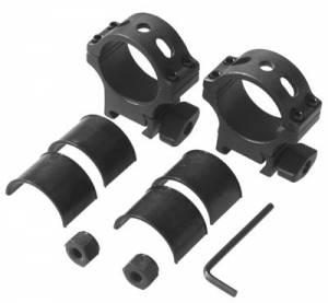 MFI 34mm STeel Low Profile Sniper Ring Set.