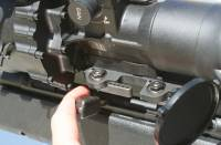 """MFI 20"""" Long Scope Mount for HK MSG-90 / MSG90 / MSG 90 for Night Vision. Room to cock the weapon."""
