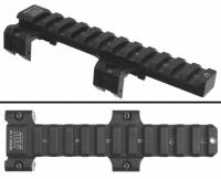 "Scope Mounts - MFI - BLEM / DEFECT - MFI 5.5"" Long Low Profile Scope Mount for HK Weapons (Universal) / No Laser Engraving, Minor Dent in rail & Slight Imperfections in Anodizing."
