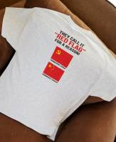 T-Shirt / Anti Beto O'Rourke Hell Yeah Take AR-15s & AK47s (Price includes S&H via USPS 1st Class Mail) SIZE XL  Democrats for Civil War 2020 With bloody bullet holes. Best selling T-Shirt from Beto O'Rourke Hell Yeah We're Going To Take Your AR15s & AK47