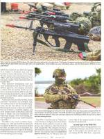 """MFI supplies THALES Australia / Lithgow the manufactuer of the Australian Version of the AUG designated EF88 / F90 with all the 1.25"""" Tactical Snap Sling Hooks. Seen here from page 73 of """"Small Arms Defense Journal Volume 12 . Number 3 in July of 2020 (Ph"""