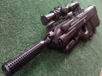 Customer FN F2000 with MFI M4 Barrel Shroud.