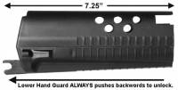 Pistol & SMG Accessories - MFI - MFI SIG 552 Style Hand Guard for SIG USA 556 & 522 Weapons.