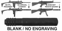 Rifle Accessories - HK MP5 / HK 94 - MFI - MFI SOCOM Fake Silencer for HK 94 & IMI Uzi Carbines (BLANK / No Engraving)