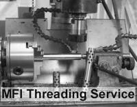 Services - Threading - MFI - Custom Threading on a NON MFI Product (Includes 1st Class Mail + Insurance)
